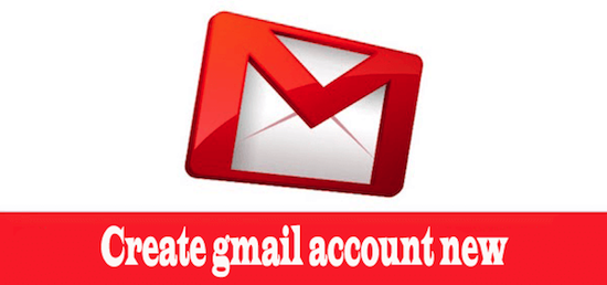 Create gmail account new