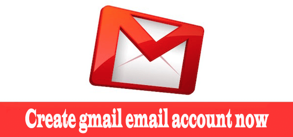 Create gmail email account now